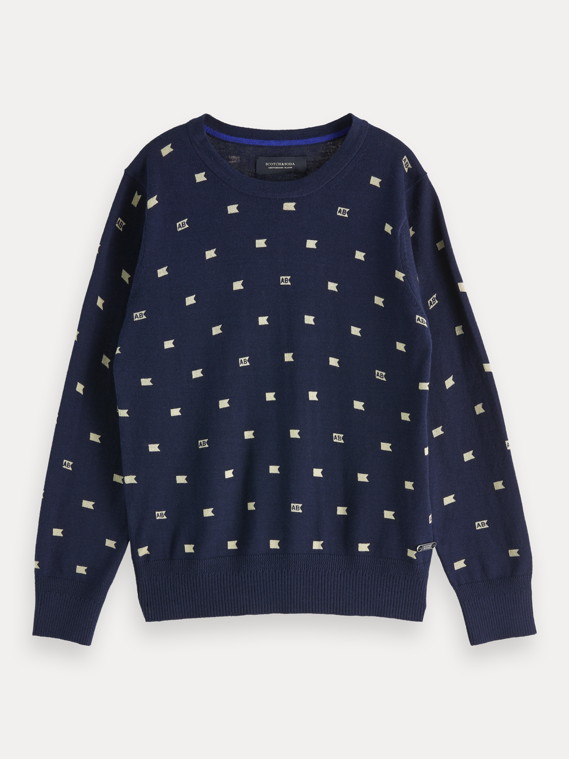 Boys All-Over Printed Pullover