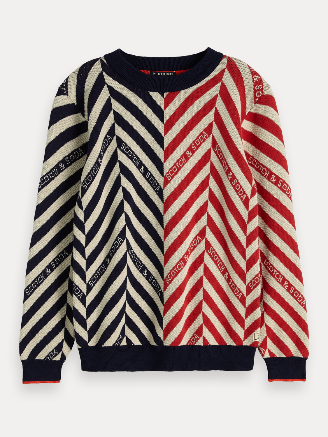 Boys Mixed Striped Pullover