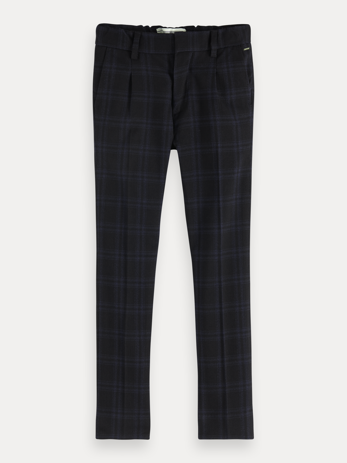 Boys Checked Trousers | Slim fit