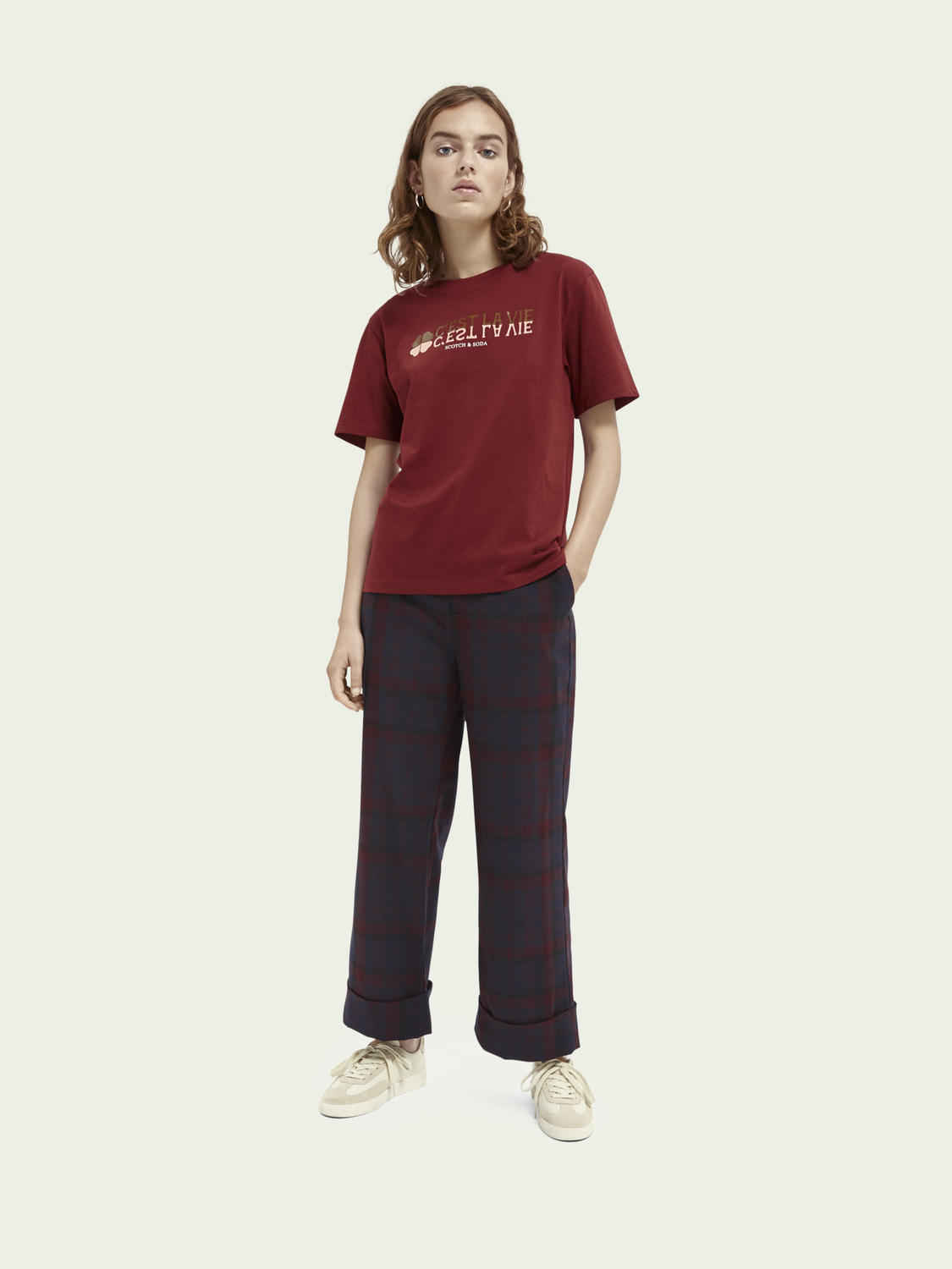 Women Graphic relaxed fit cotton T-shirt