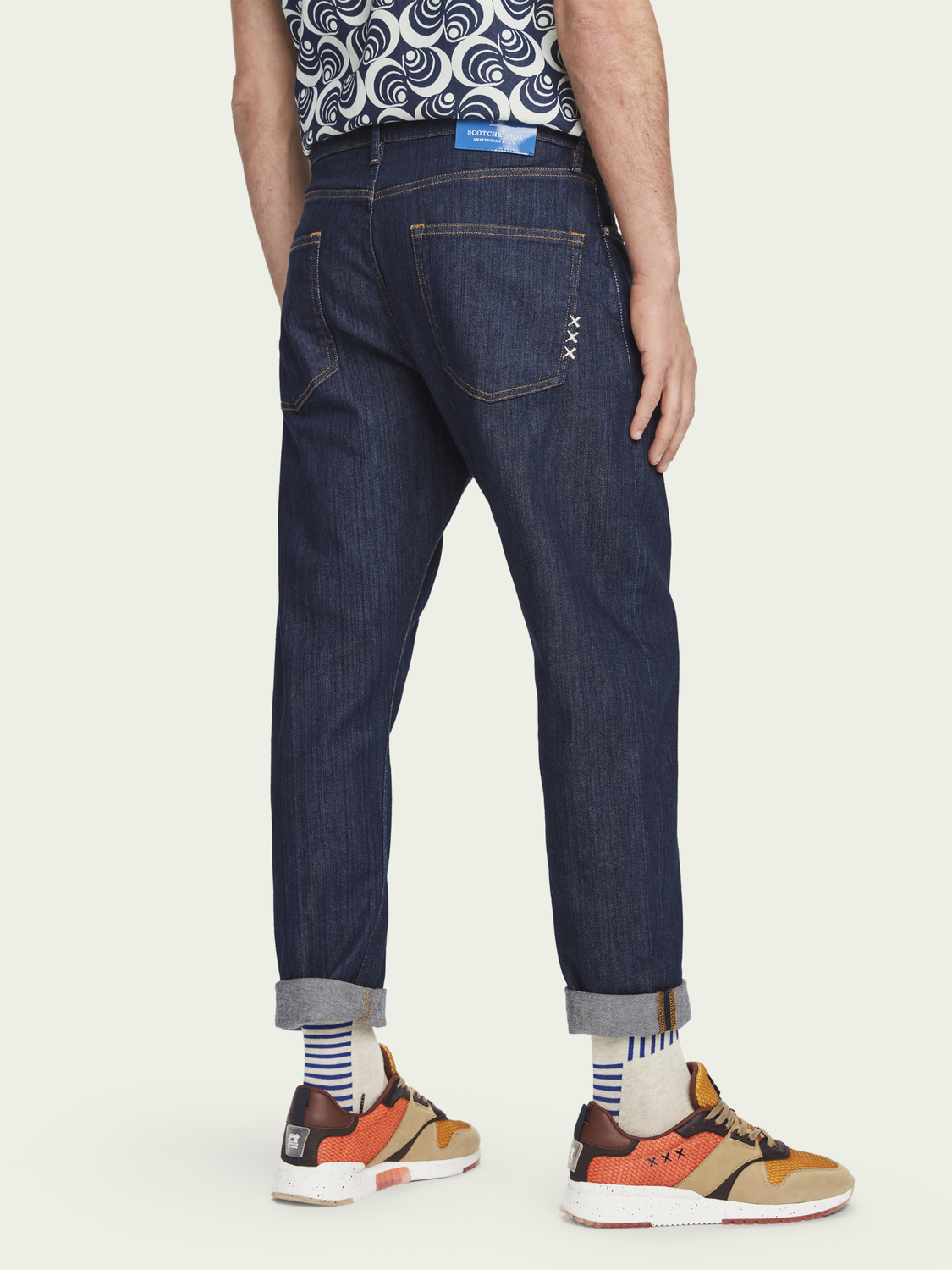 Heren Dean - Blank Page | Loose tapered fit jeans