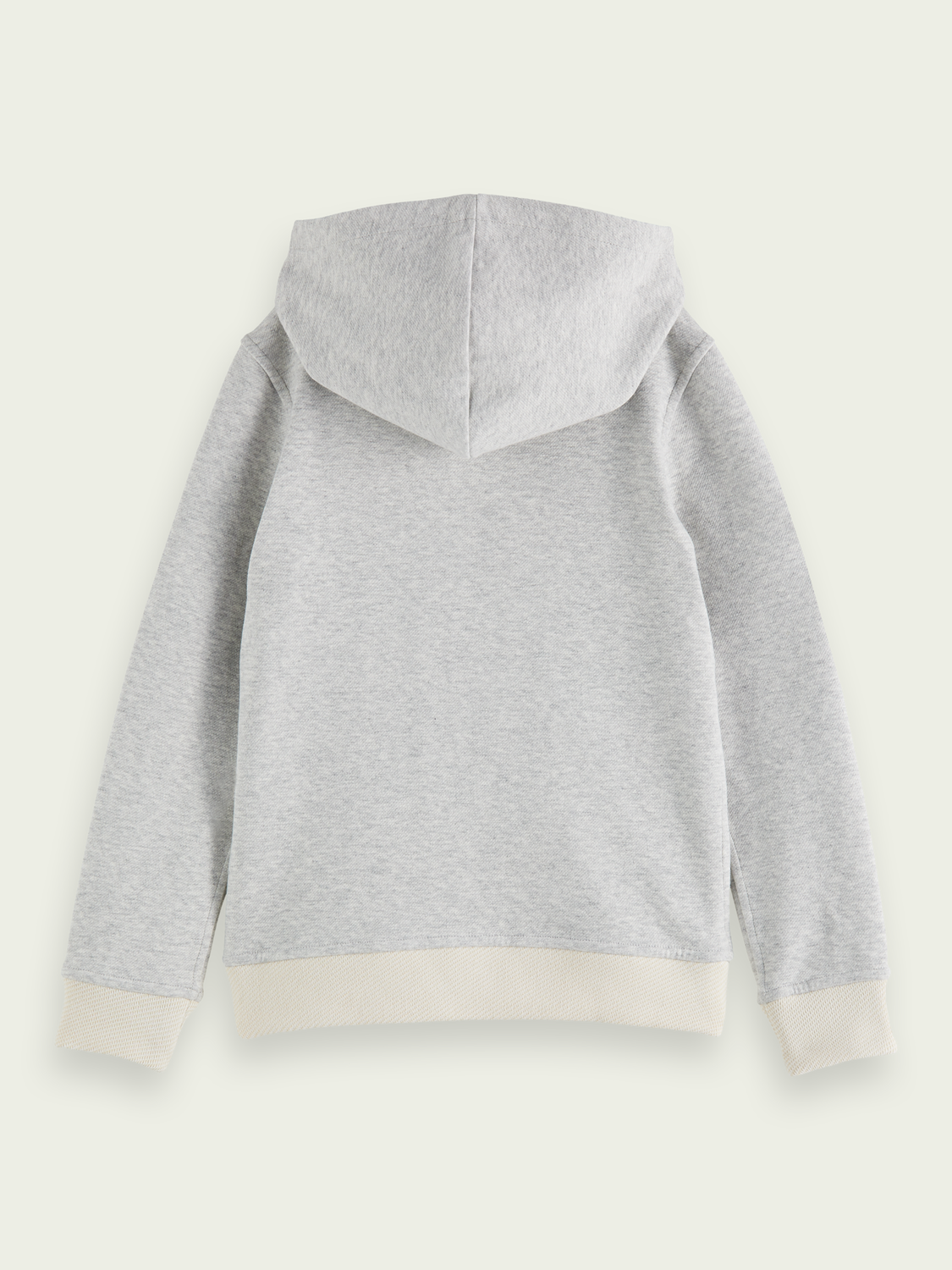 Kids Cotton-blend reversible hooded sweater