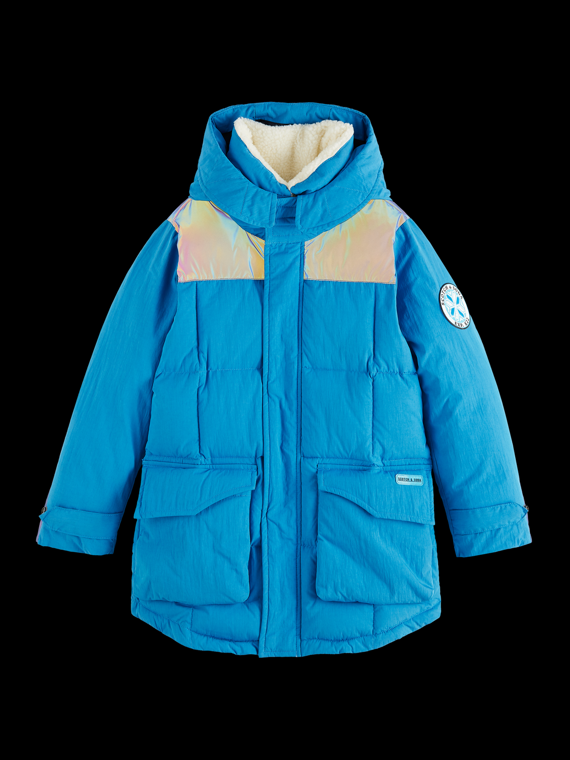 Kids Reflective padded jacket