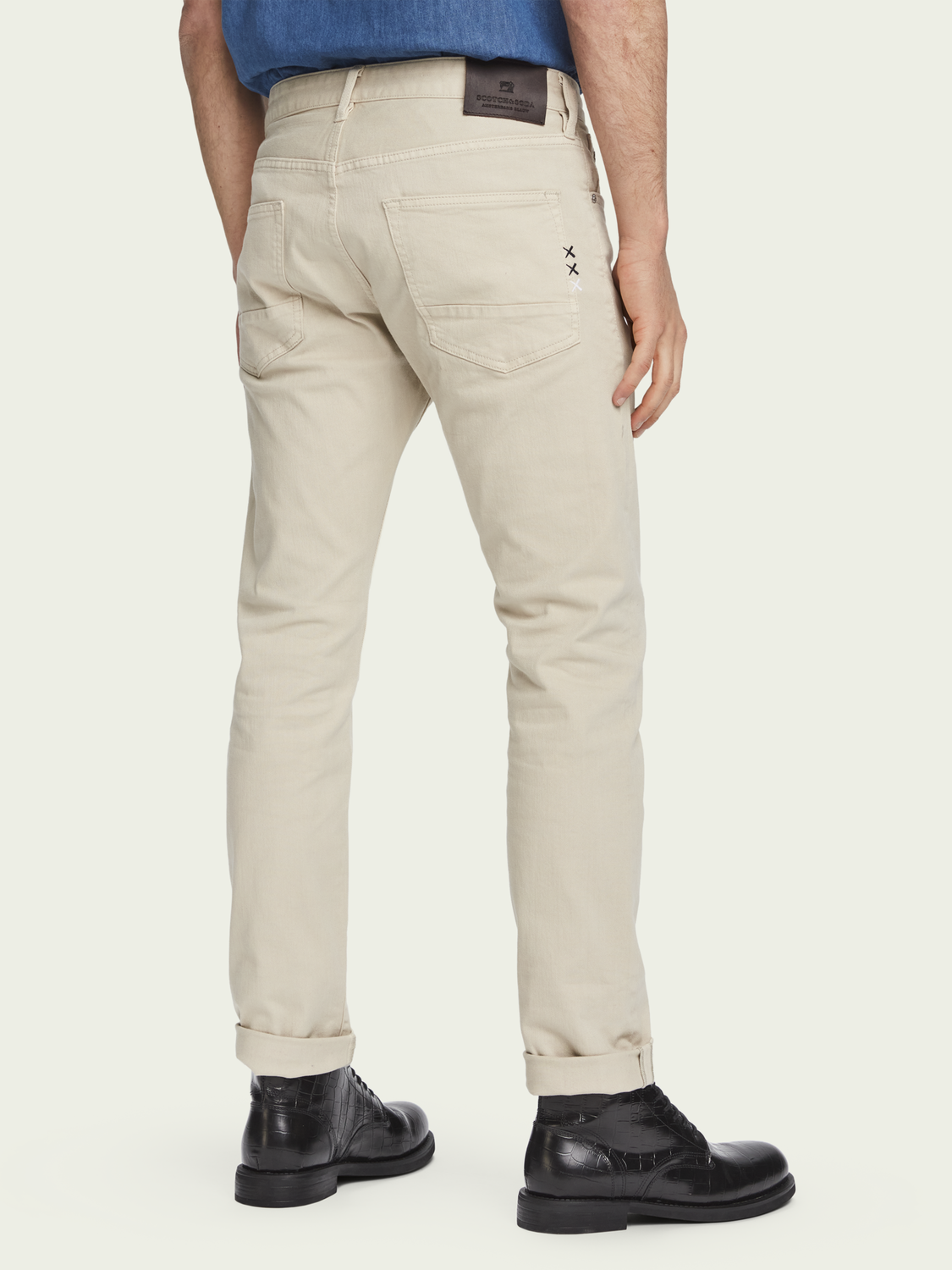 Men Ralston regular slim-fit jeans