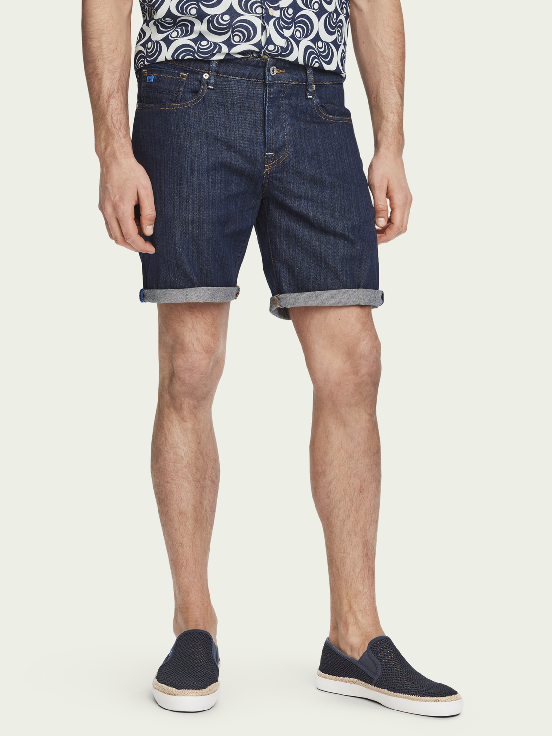 Men Ralston Short - Blank Page | Slim fit