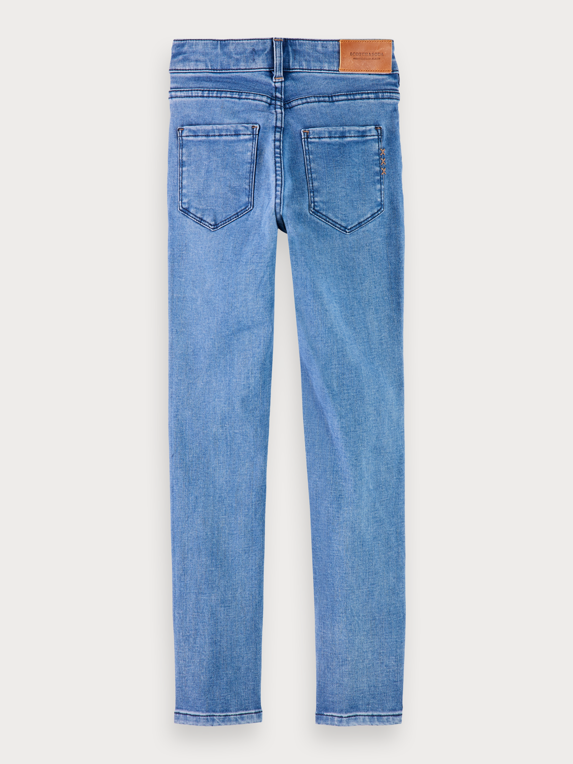 Flickor La Charmante - Moody Blue | Jeans med high-rise skinny fit