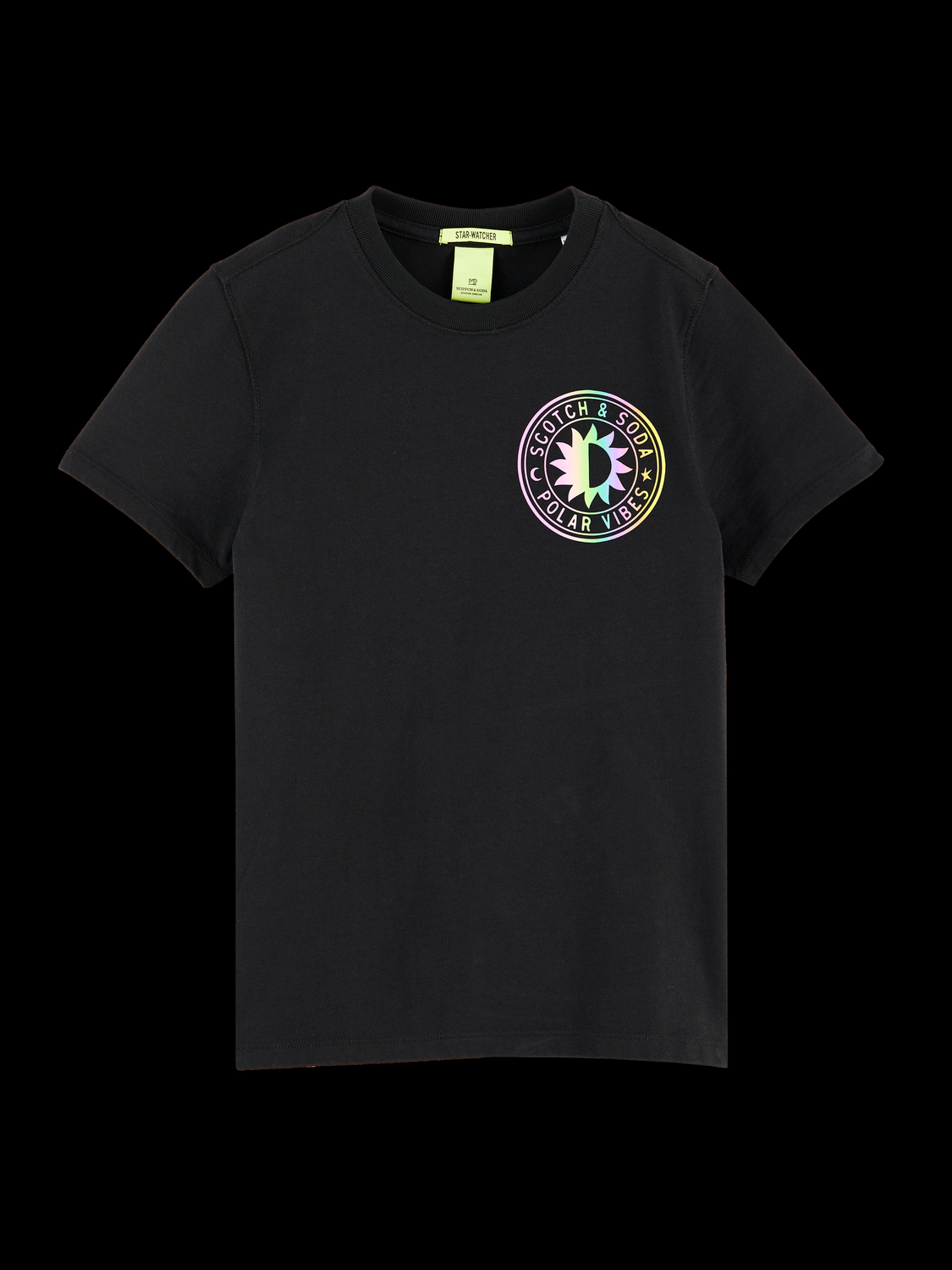 Kids Short sleeve reflective t-shirt