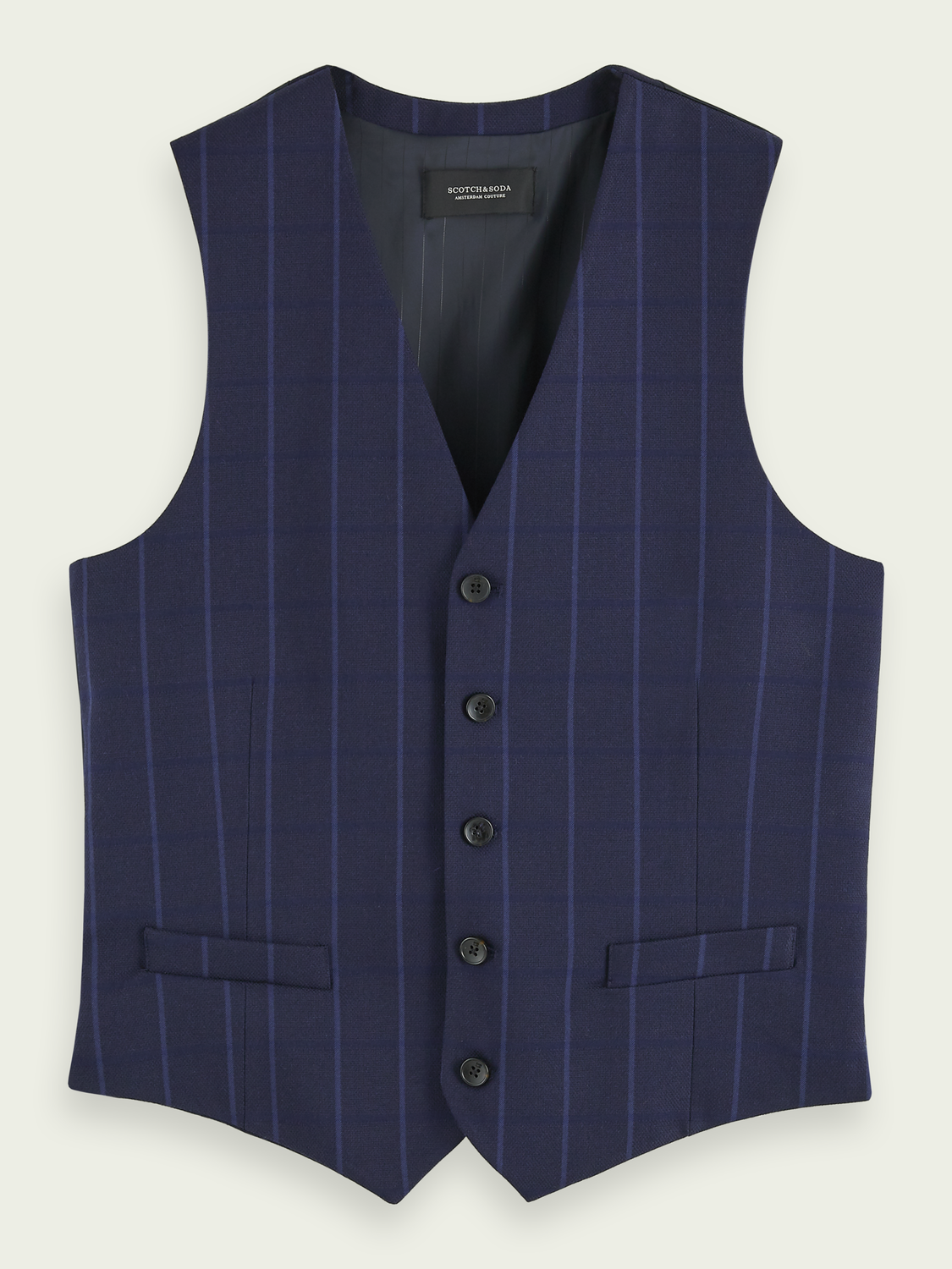 Men Classic structured gilet