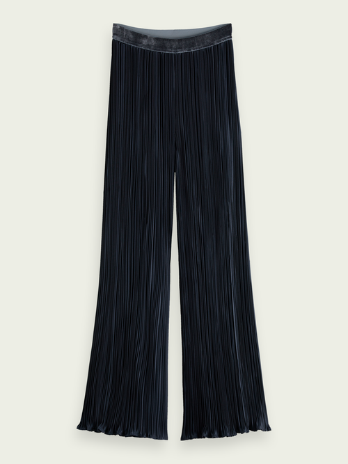 Scotch & Soda PLEATED WIDE LEG PANTS