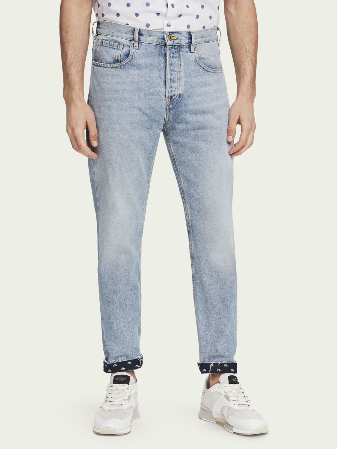 Men The Norm – Bonheur | High-rise jeans