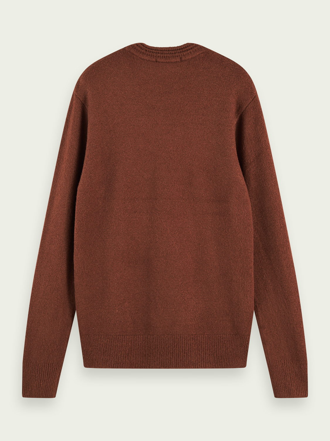 Men Soft knit crewneck pullover