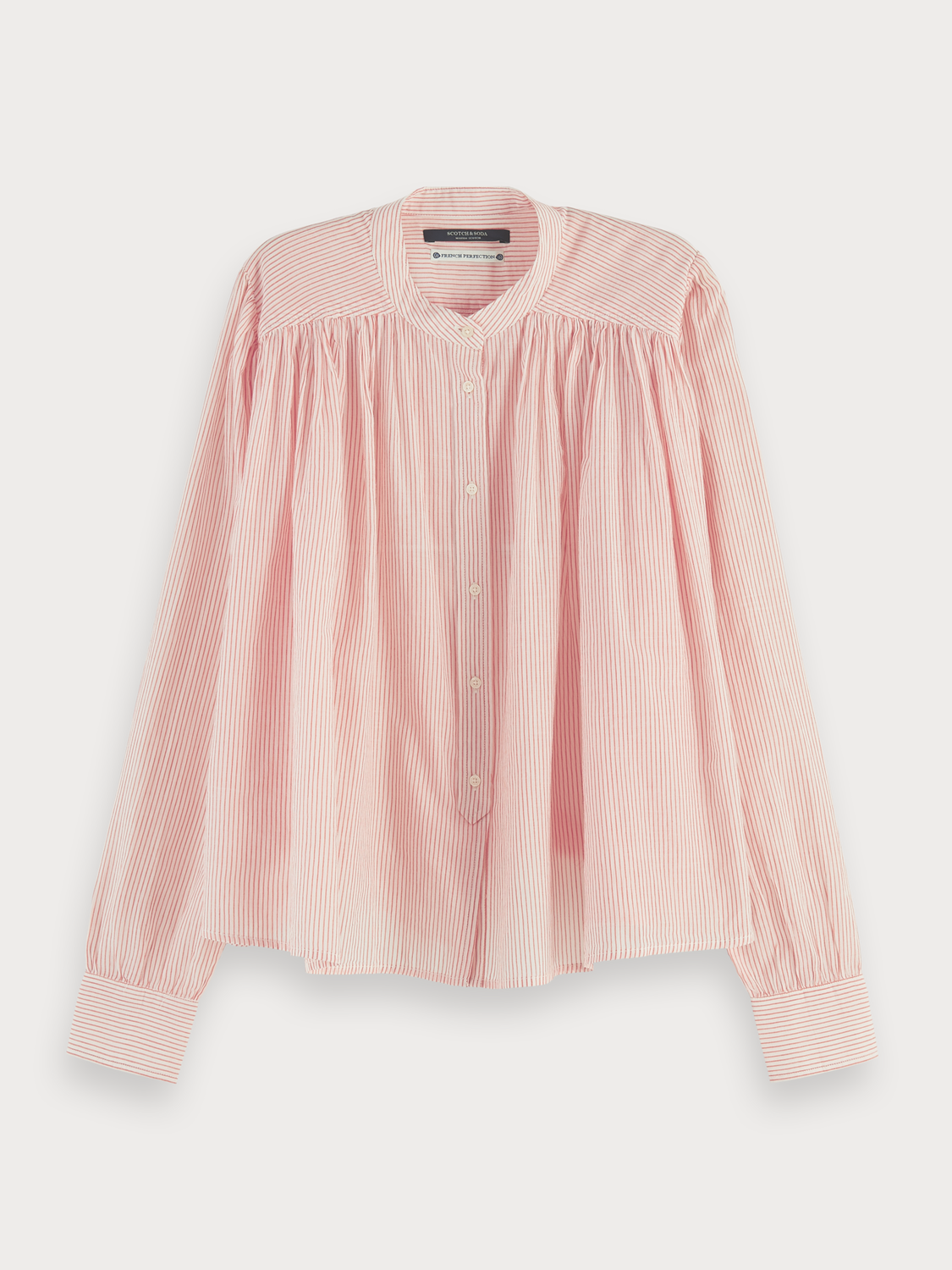 Donna Sustainable loose-fit cotton shirt