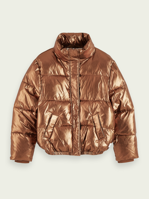 Scotch & Soda METALLIC PADDED JACKET
