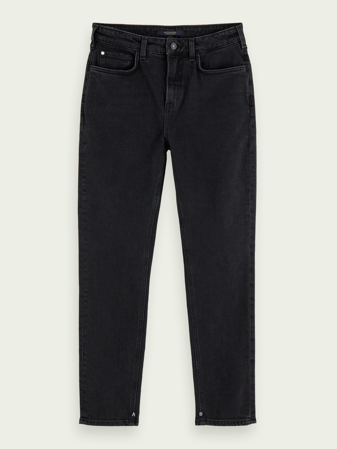 Dames High Five - Black Butter   High-rise slim fit jeans