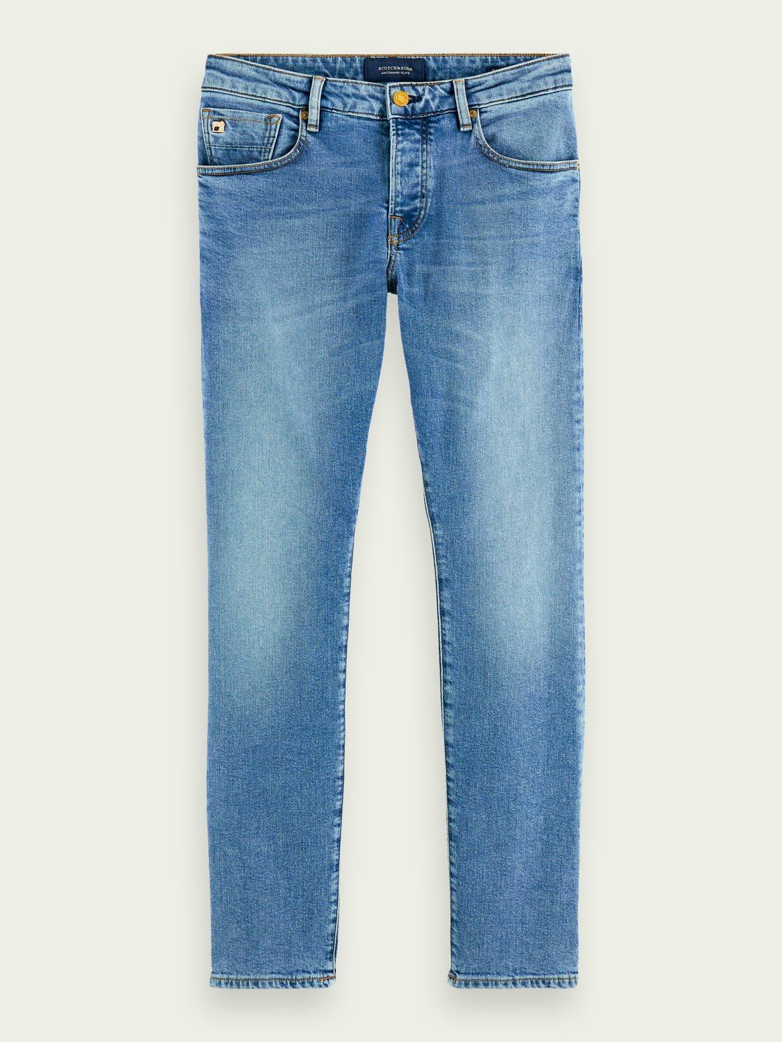 Men Ralston - Midday Blauw | Regular slim fit jeans