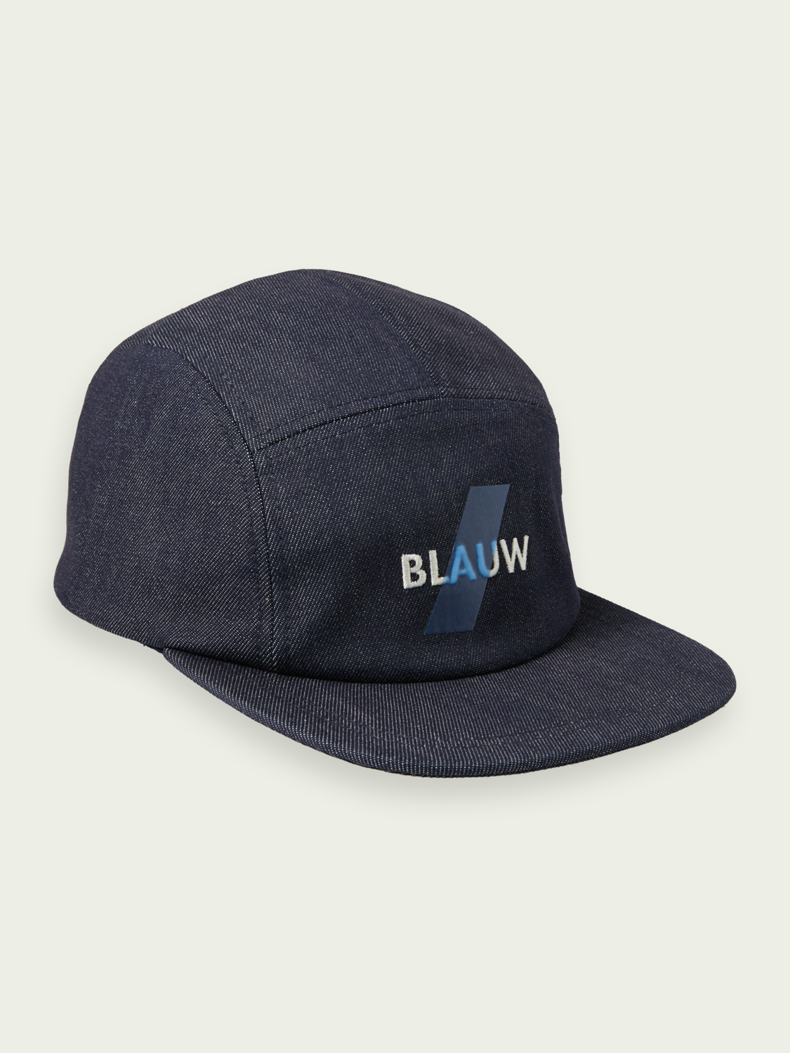 Men Blauw logo trucker cap