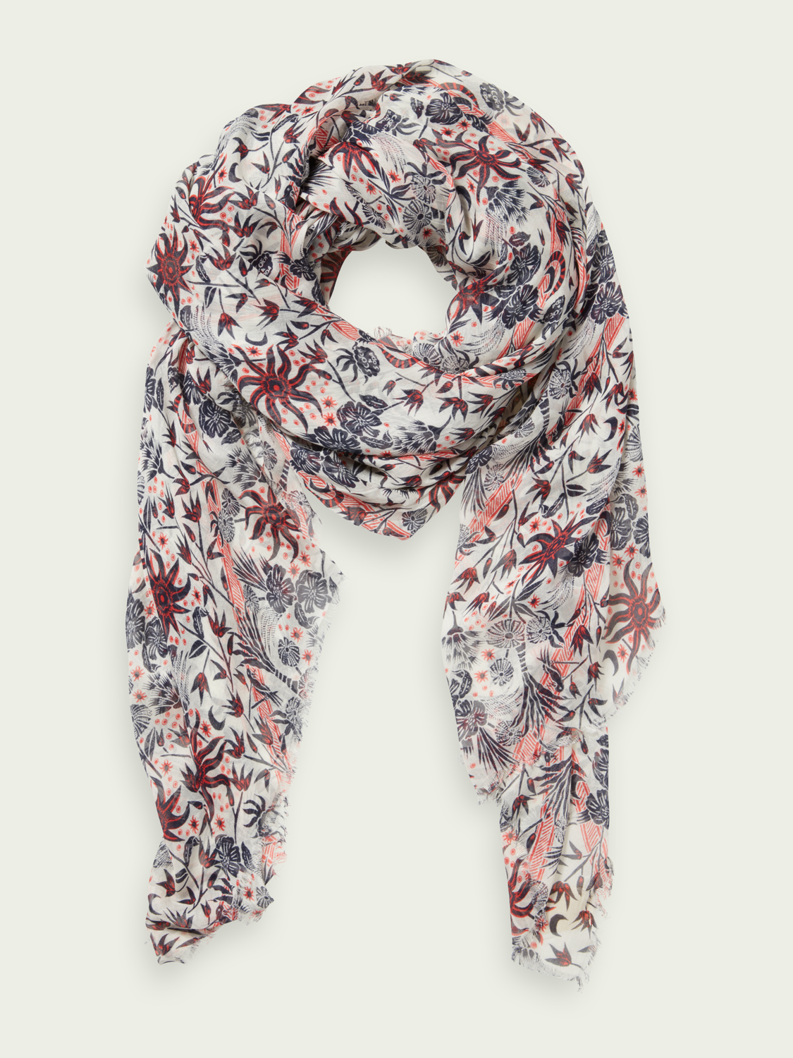 Women Lightweight TENCEL'Ñ¢ printed scarf