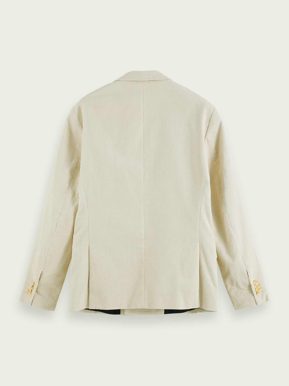 Men Cotton corduroy double-breasted blazer