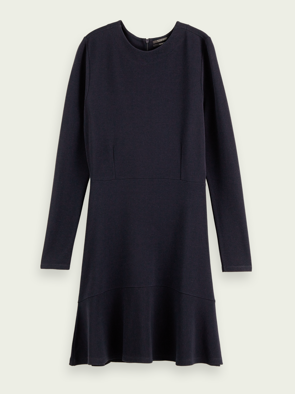 Women Rib knit sweat dress