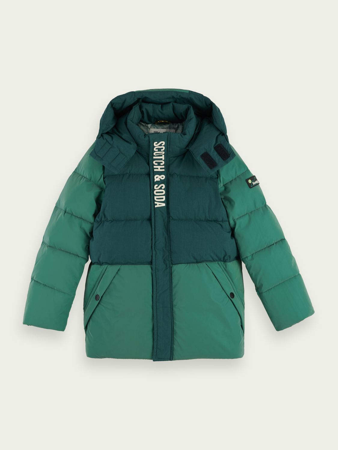 Kids Reflective colour block jacket