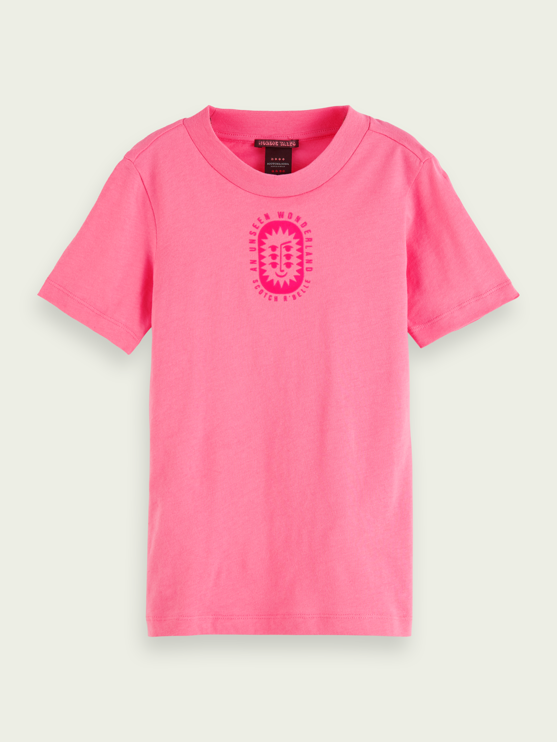 Girls Cotton short sleeve t-shirt