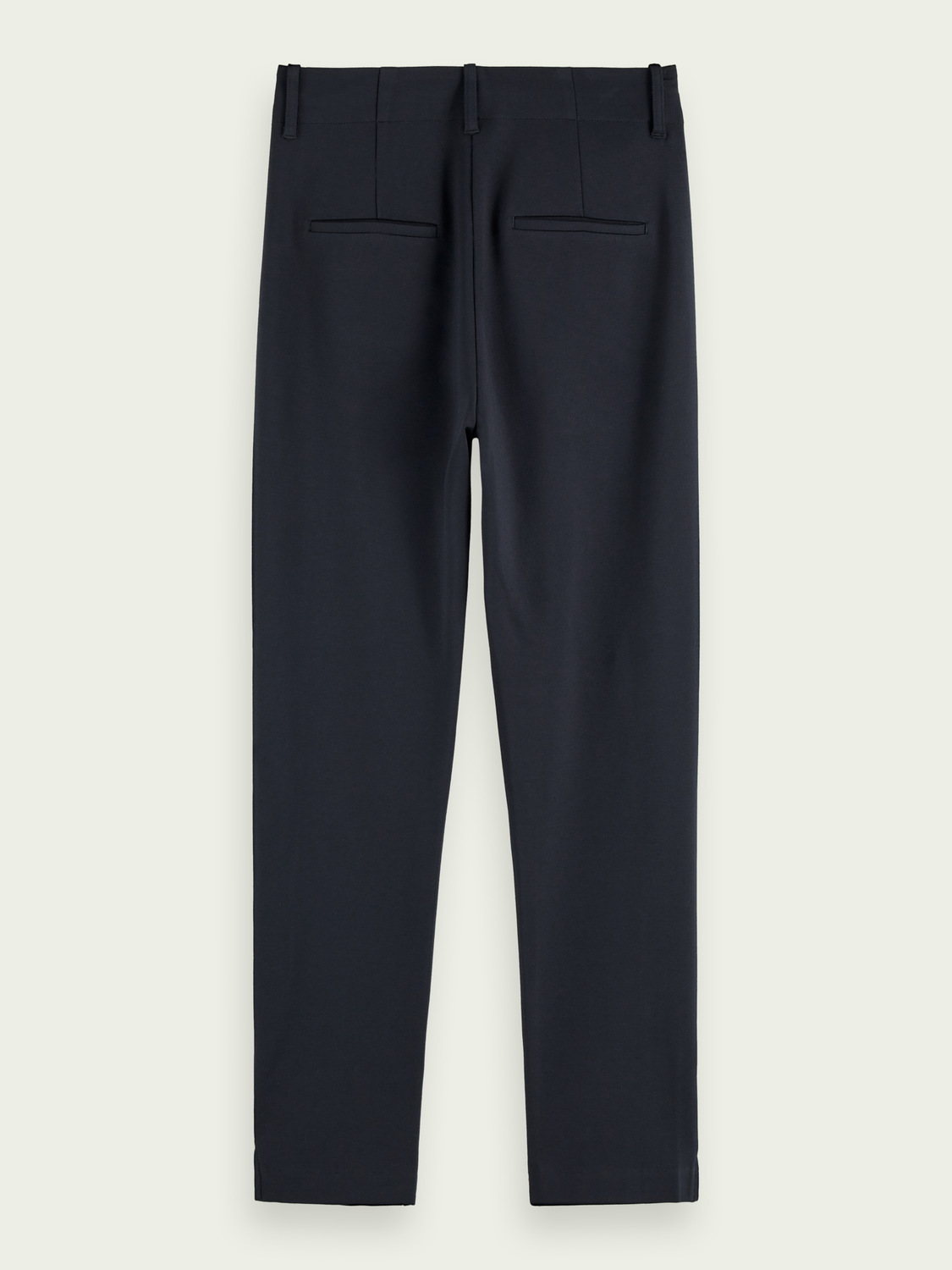 Women Tailored mid-rise stretch pants