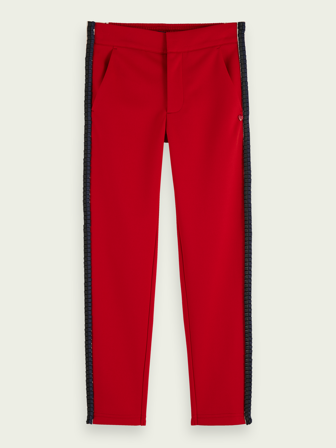 Girls Sporty mid-rise tailored sweatpants