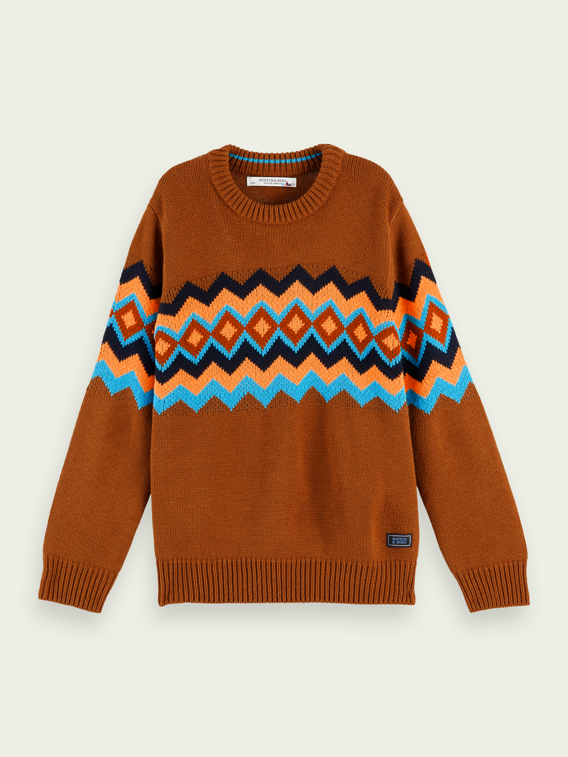 Kids Soft crewneck knit pullover