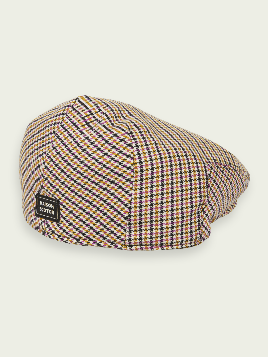 Women Houndstooth taxi hat