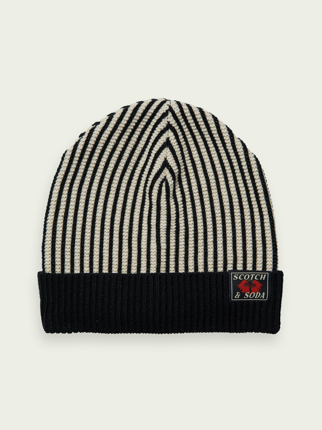 Kids Striped knitted beanie