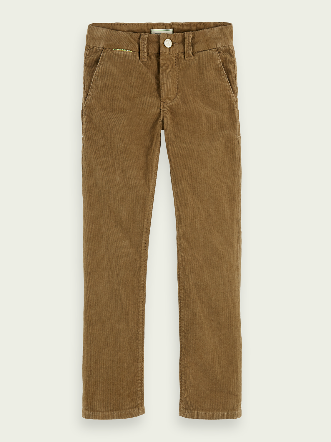 Kids Relaxed slim fit corduroy chino