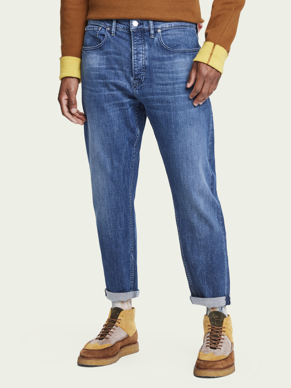 Herren Dean – Daily Icon | Loose Tapered Fit Jeans