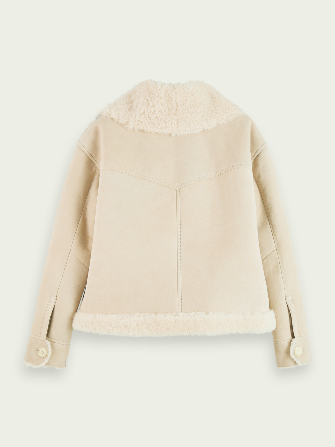 Women Premium shearling jacket