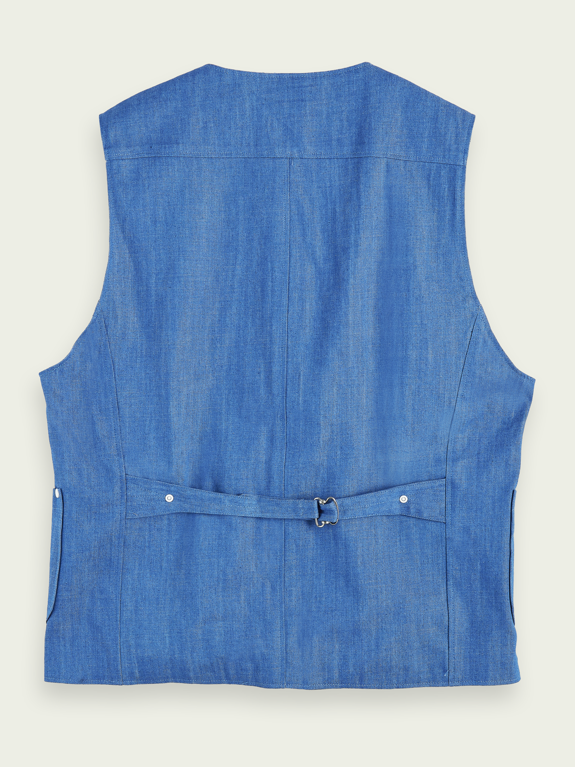 Men 100% cotton denim gilet