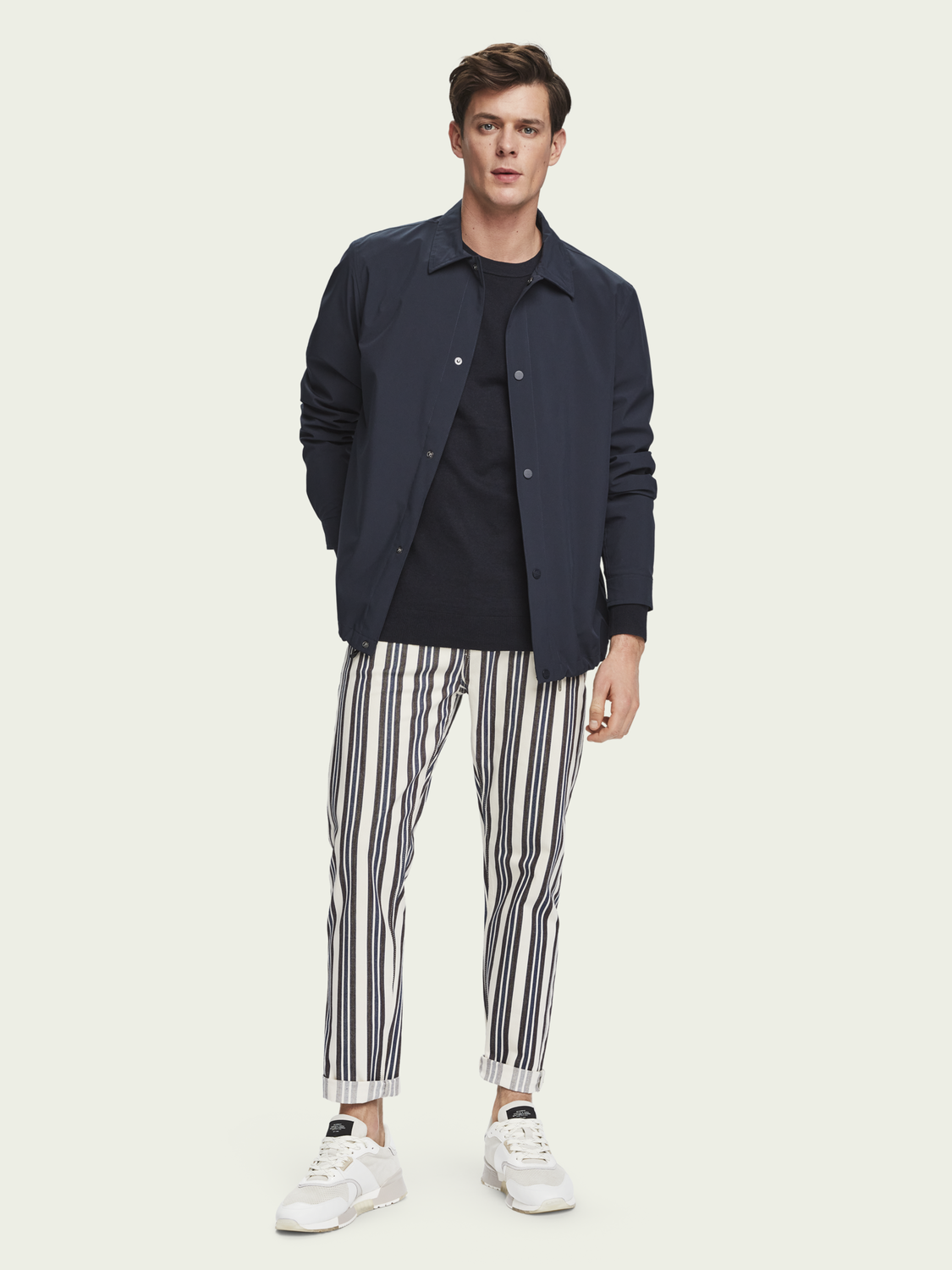 Men The Norm - Stripe Out | High-rise jeans