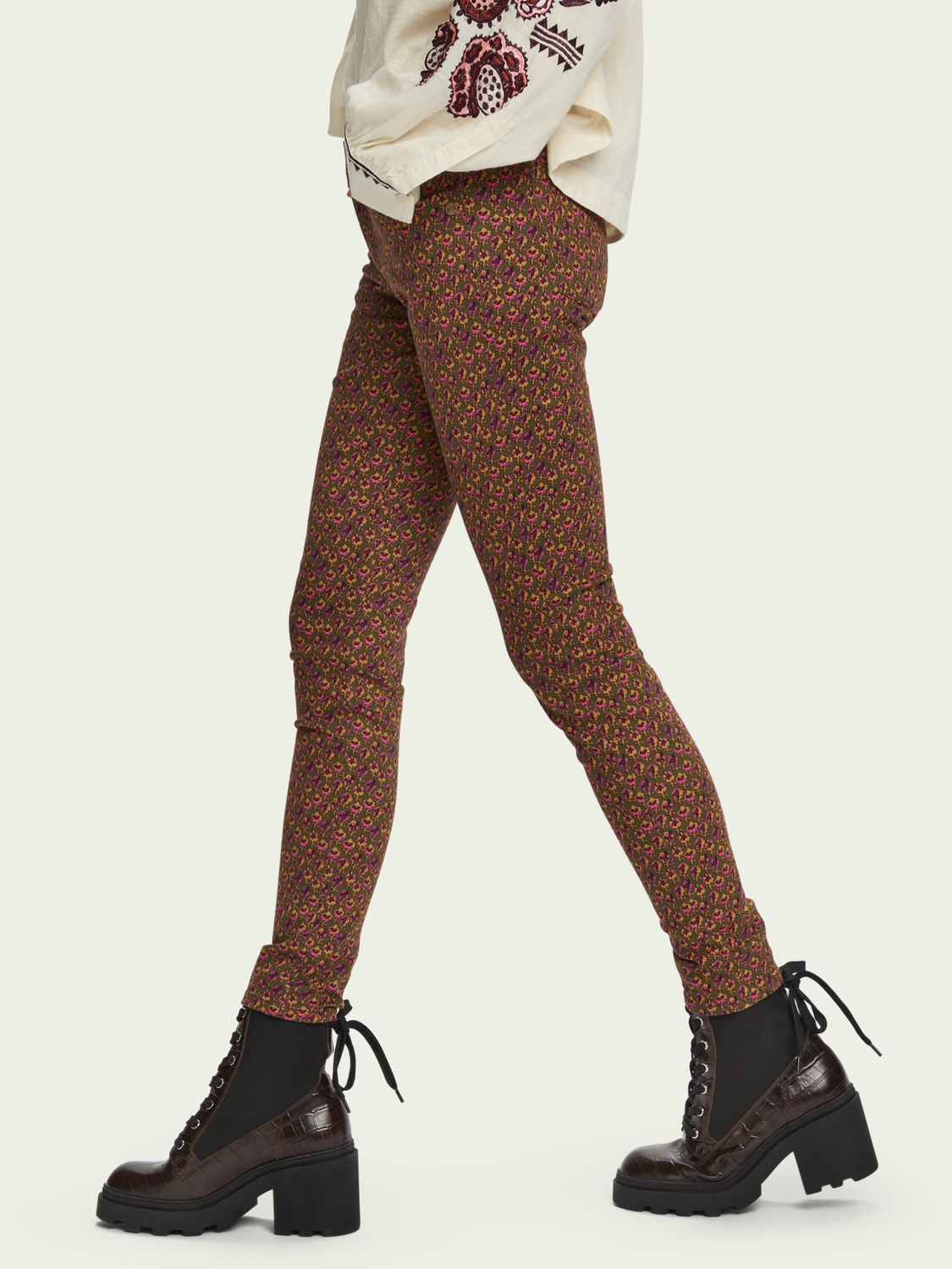 Women La Bohemienne – cotton | Mid-rise skinny fit