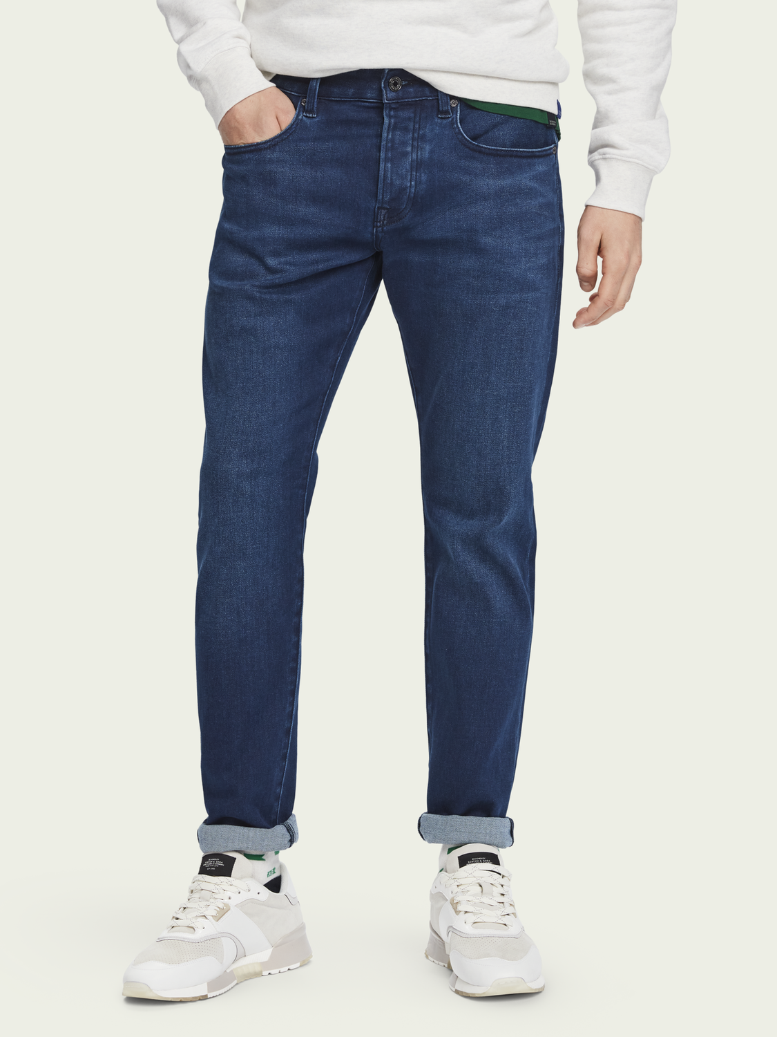 Herren Ralston – Spyglass Dark | Regular Slim Fit Jeans