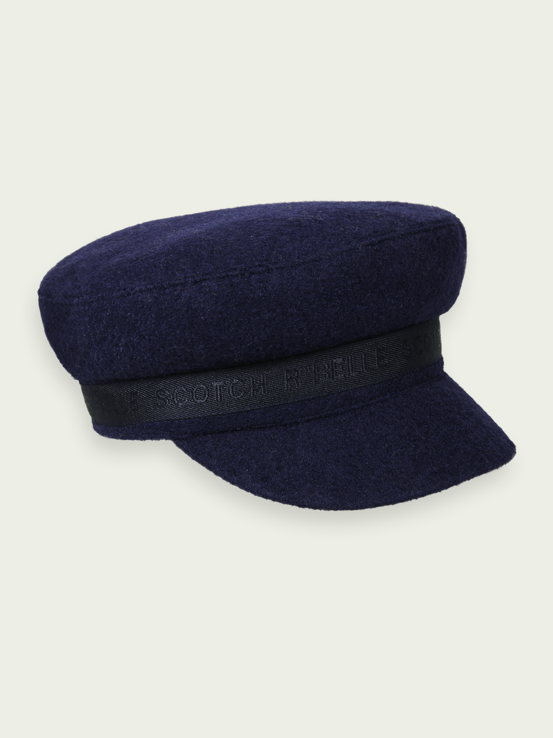 Kids Wool-blend captain hat