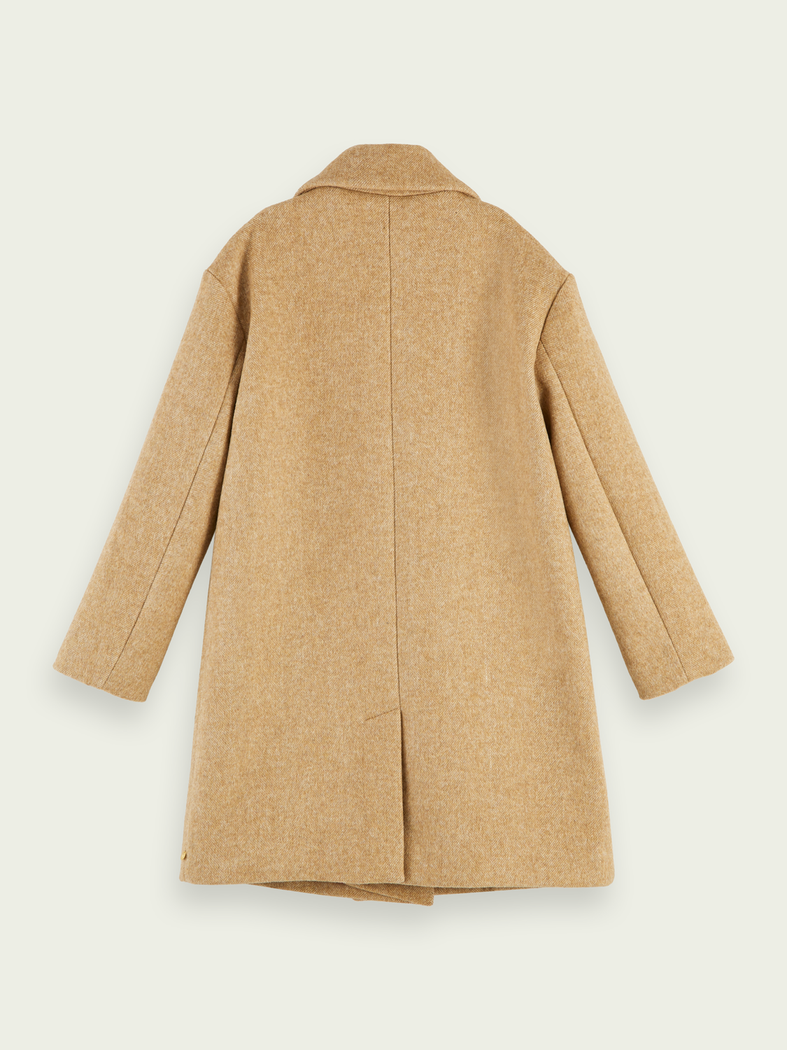 Kids Oversized wool-blend double breasted coat