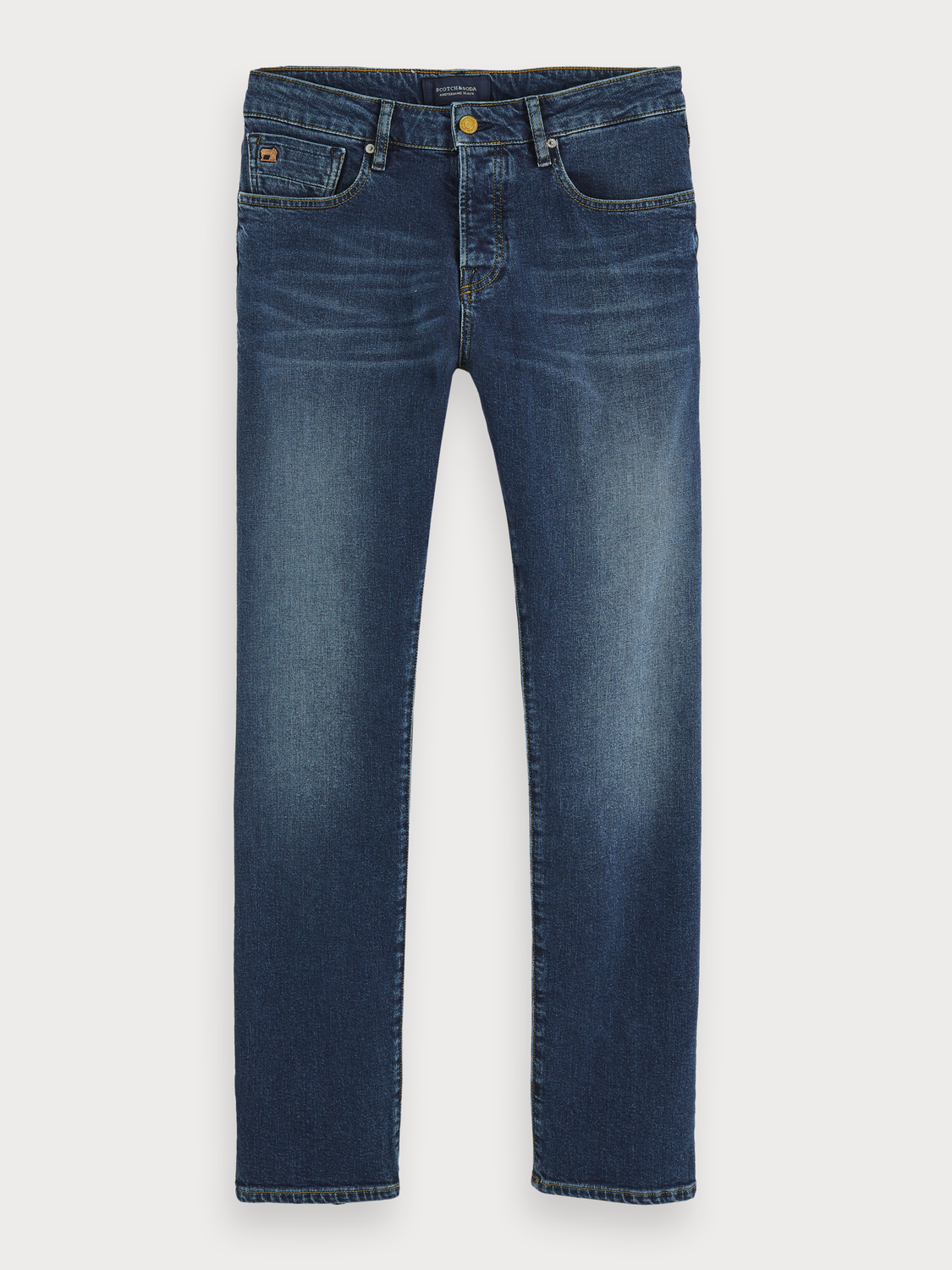 Herrar Vernon - Blauw Sunset | Regular straight fit