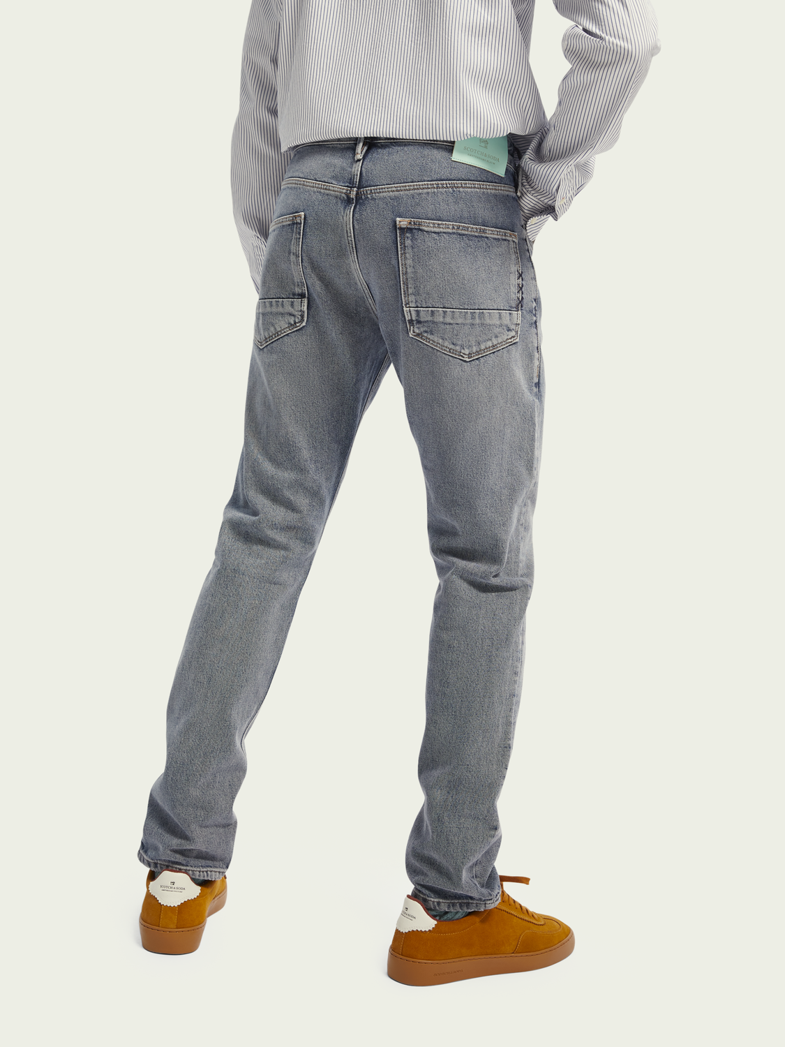 Men Tye slim carrot fit jeans – Dive Right In