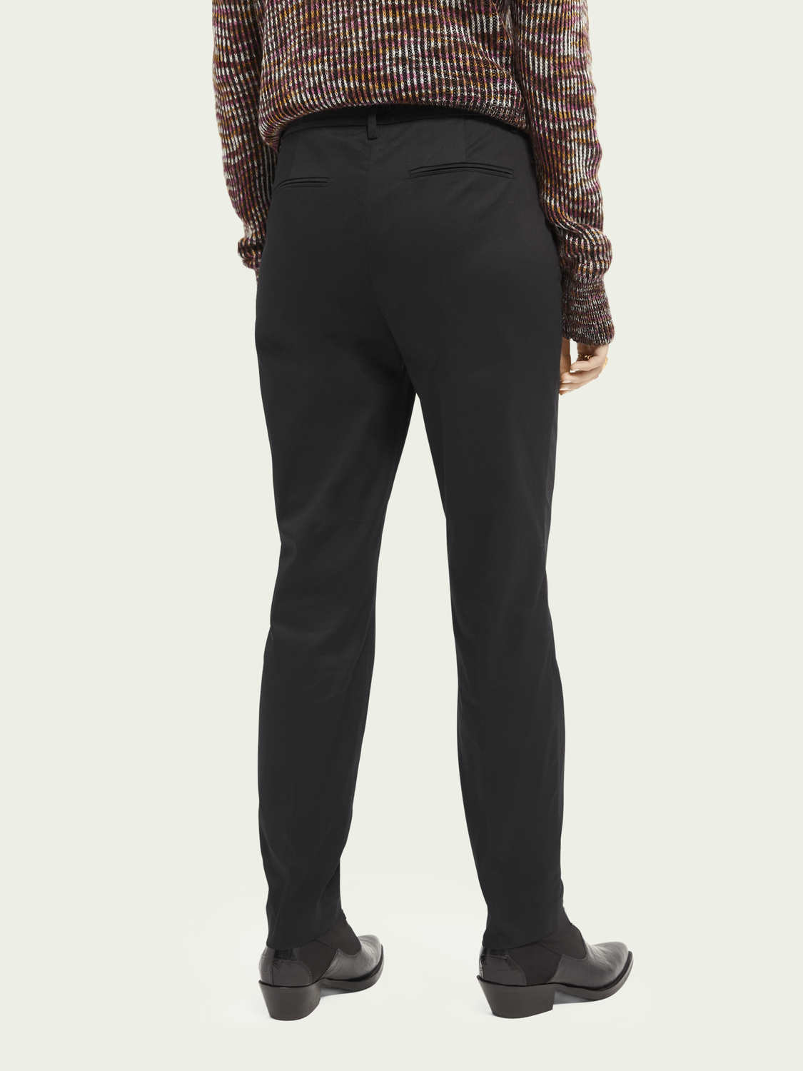 Dames Bell – stretch cotton | Mid-rise slim fit chino
