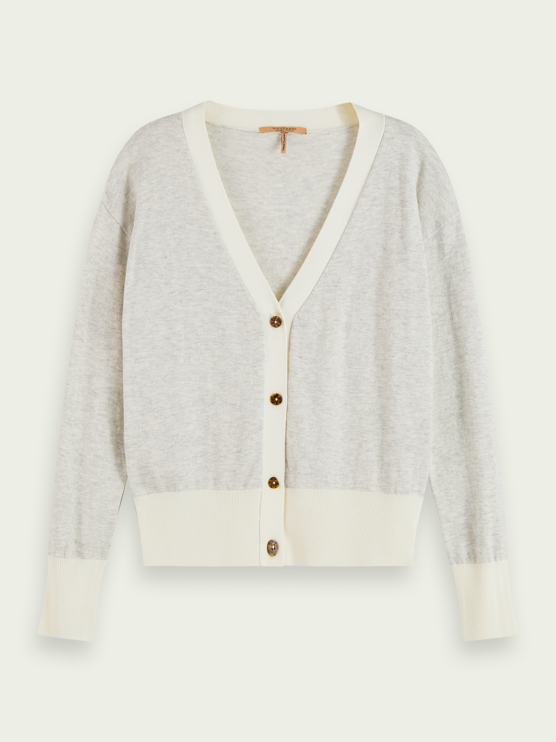 Women Wool-blend V-neck cardigan