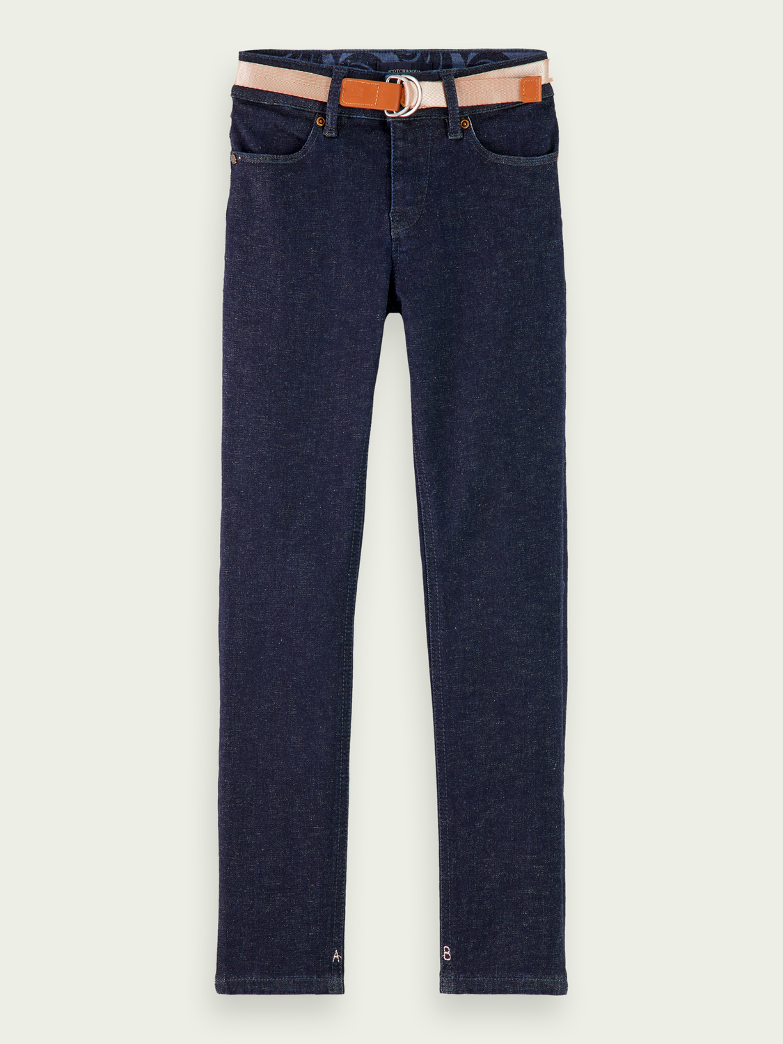 Kids La Charmante - New Blauw Rinse | High rise skinny jeans