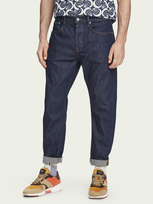 Scotch & Soda Dean - Blank Page   Loose tapered fit jeans
