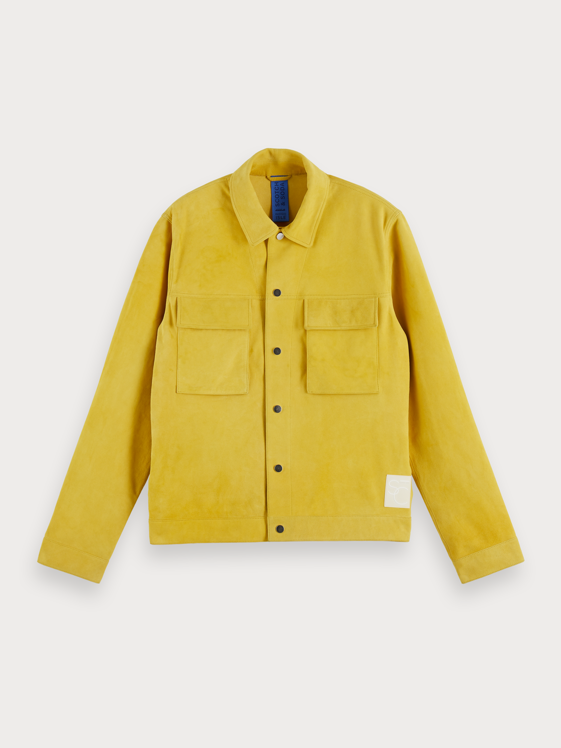Uomo 100% soft suede workwear jacket