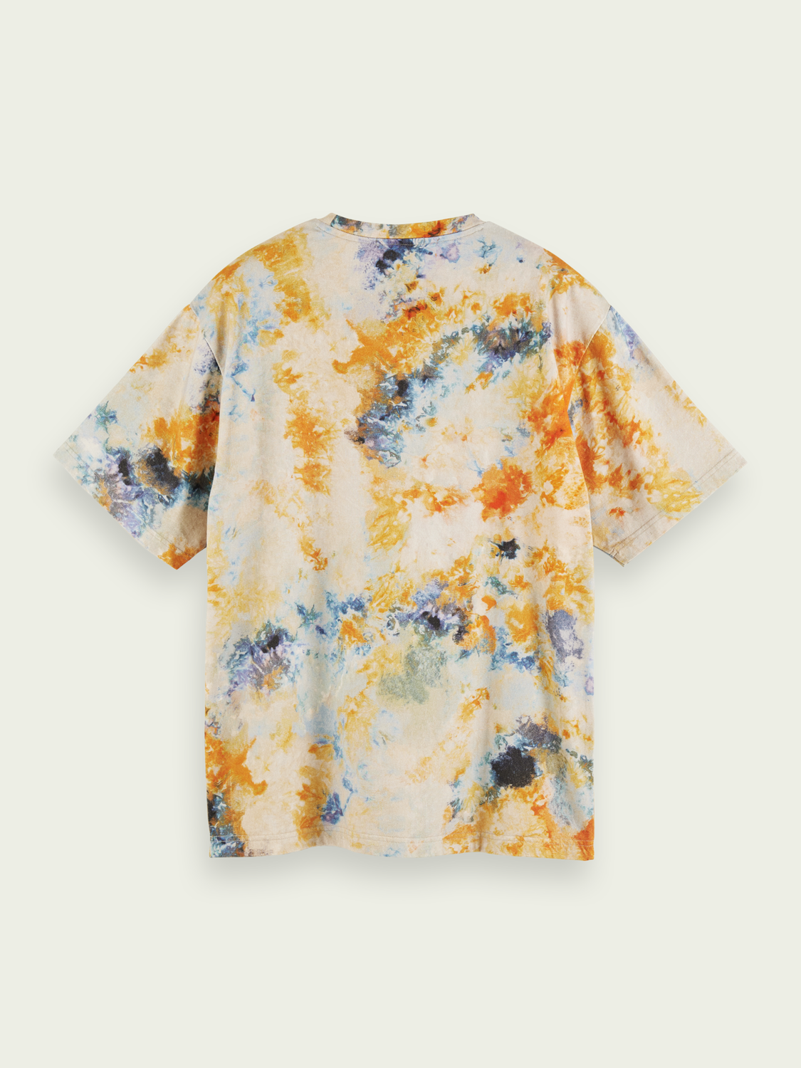 Men Tie-dyed short sleeve cotton t-shirt