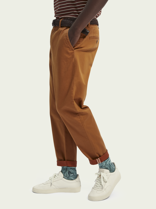 Scotch & Soda FAVE – Chino van biologisch katoen   Loose tapered fit