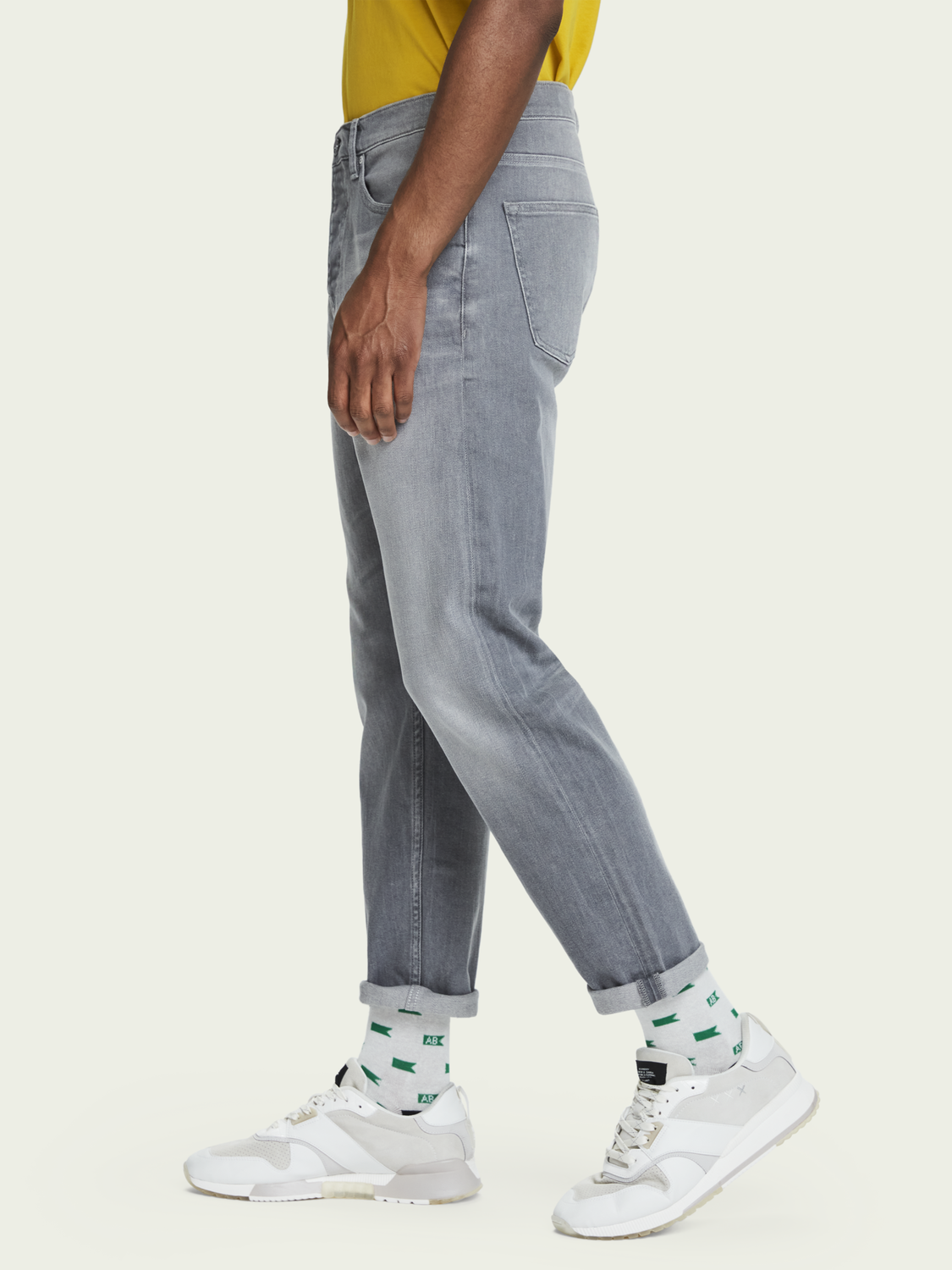 Men The Norm - Stone And Sand | High-rise straight fit jeans