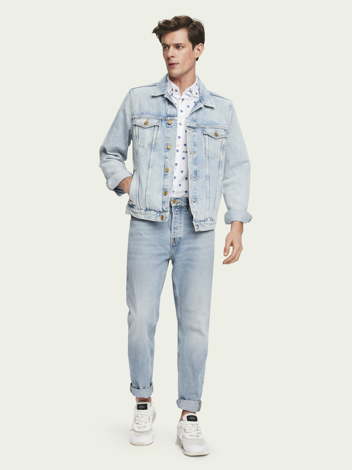 Heren The Norm – Bonheur | High-rise jeans